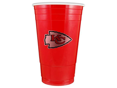 Kansas City Chiefs 16oz Plastic Double Wall Cup