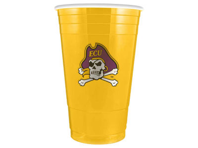 East Carolina Pirates 16oz Plastic Double Wall Cup