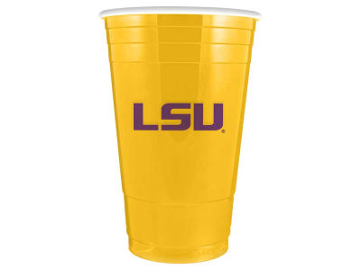 LSU Tigers 16oz Plastic Double Wall Cup