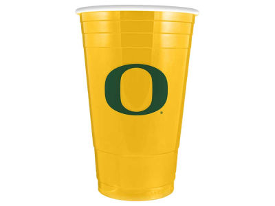 Oregon Ducks 16oz Plastic Double Wall Cup