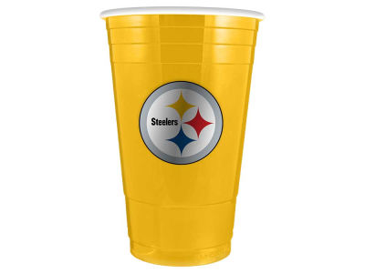 Pittsburgh Steelers 16oz Plastic Double Wall Cup