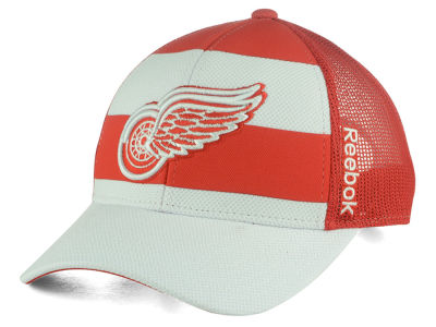 Detroit Red Wings Reebok NHL Ice Basket Adjustable Cap