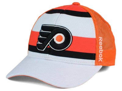 Philadelphia Flyers Reebok NHL Ice Basket Adjustable Cap