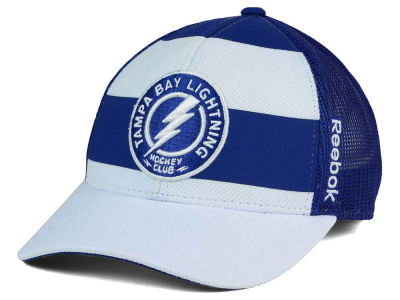Tampa Bay Lightning Reebok NHL Ice Basket Adjustable Cap