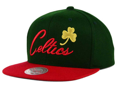 Boston Celtics Mitchell and Ness NBA Holiday Collection Snapback Hat