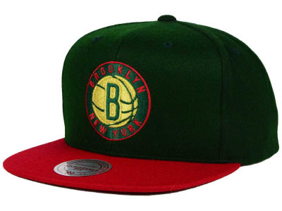 Brooklyn Nets Mitchell and Ness NBA Holiday Collection Snapback Hat