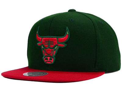 Chicago Bulls Mitchell & Ness NBA Holiday Collection Snapback Hat