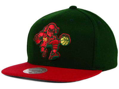 Philadelphia 76ers Mitchell and Ness NBA Holiday Collection Snapback Hat