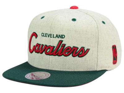 Cleveland Cavaliers Mitchell and Ness NBA Holiday Collection Snapback Hat