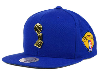 Golden State Warriors Mitchell and Ness NBA Broach Champ Snapback Cap