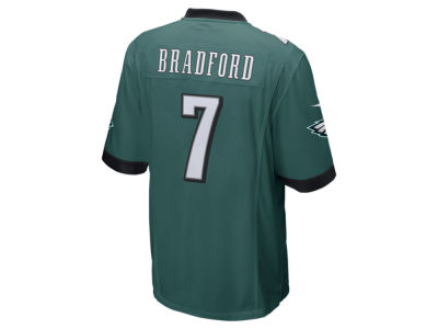 Philadelphia Eagles Sam Bradford Nike NFL Men's Game Jersey