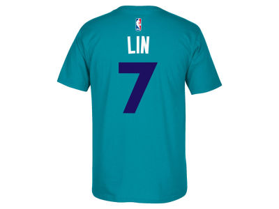 Charlotte Hornets Jeremy Lin adidas NBA Men's Player T-Shirt