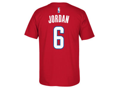 Los Angeles Clippers DeAndre Jordan adidas NBA Men's Player T-Shirt