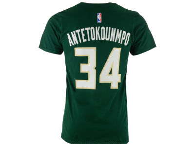 Milwaukee Bucks Giannis Antetokounmpo  adidas NBA Men's Player T-Shirt