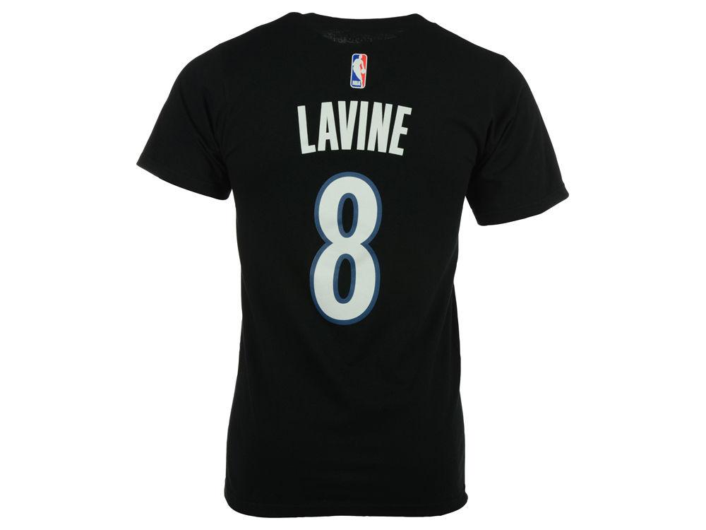 d6ba3e24 ... Minnesota Timberwolves Zach LaVine adidas NBA Mens Player T-Shirt ...