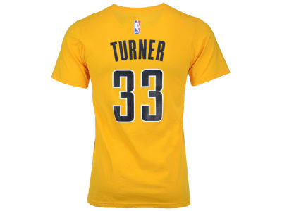 Indiana Pacers Myles Turner adidas NBA Men's Player T-Shirt