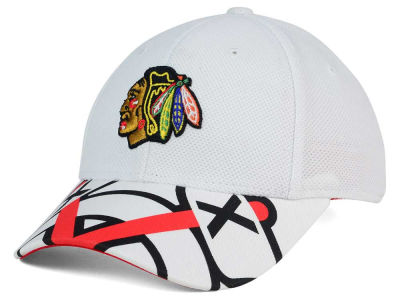 Chicago Blackhawks Reebok NHL 2015-2016 Kids 2nd Season Draft Flex Cap
