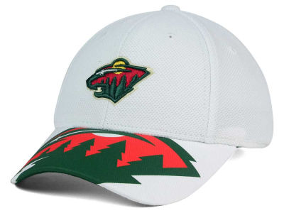 Minnesota Wild Reebok NHL 2015-2016 Kids 2nd Season Draft Flex Cap