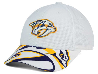 Nashville Predators Reebok NHL 2015-2016 Kids 2nd Season Draft Flex Cap