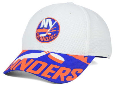 New York Islanders Reebok NHL 2015-2016 Kids 2nd Season Draft Flex Cap