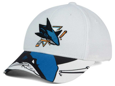 San Jose Sharks Reebok NHL 2015-2016 Kids 2nd Season Draft Flex Cap