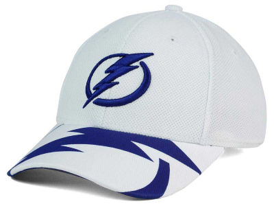 Tampa Bay Lightning Reebok NHL 2015-2016 Kids 2nd Season Draft Flex Cap