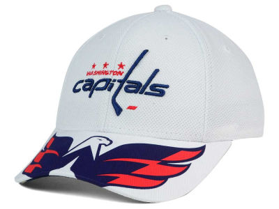 Washington Capitals Reebok NHL 2015-2016 Kids 2nd Season Draft Flex Cap