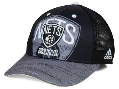 Brooklyn Nets adidas NBA Shadow Trucker Cap