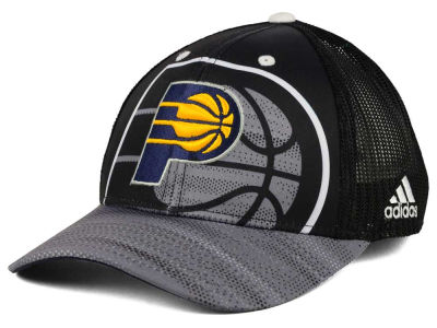 Indiana Pacers adidas NBA Shadow Trucker Cap