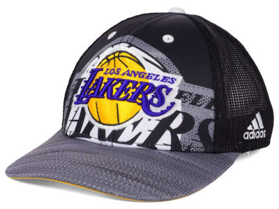 Los Angeles Lakers adidas NBA Shadow Trucker Cap
