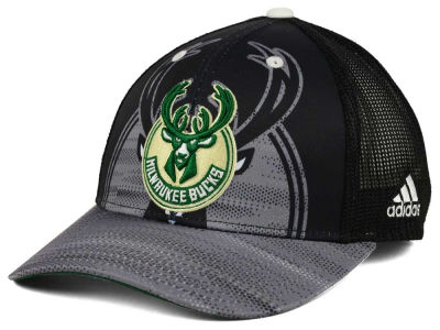 Milwaukee Bucks adidas NBA Shadow Trucker Cap