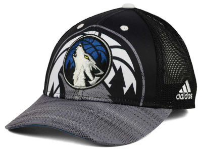 Minnesota Timberwolves adidas NBA Shadow Trucker Cap