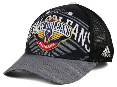 New Orleans Pelicans adidas NBA Shadow Trucker Cap