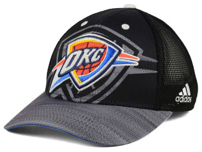 Oklahoma City Thunder adidas NBA Shadow Trucker Cap