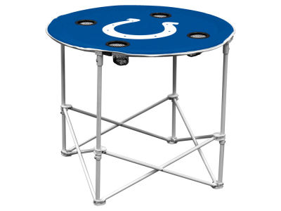 Logo Brands Round Folding Table