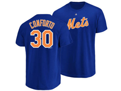 New York Mets Michael Conforto MLB Men's Official Player T-Shirt