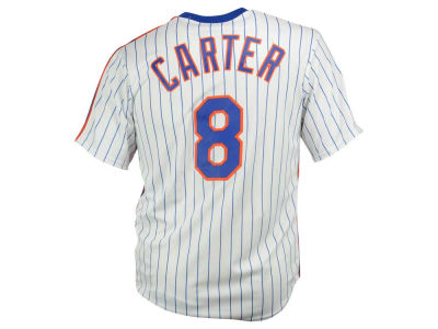 New York Mets Gary Carter Majestic MLB Men's Cooperstown Player Replica CB Jersey