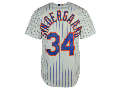 New York Mets Noah Syndergaard Majestic MLB Men's Player Replica Cool Base Jersey