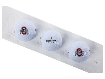 Ohio State Buckeyes 3-pack Bridgestone Golf Balls