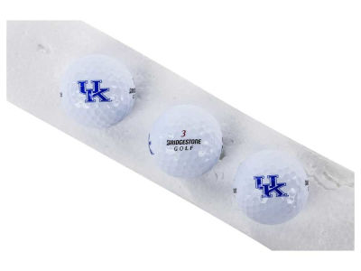 Kentucky Wildcats 3-pack Bridgestone Golf Balls