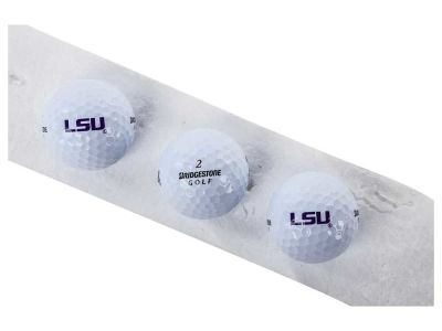 LSU Tigers 3-pack Bridgestone Golf Balls