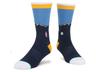 Denver Nuggets Stance NBA Arena Core Crew Sock