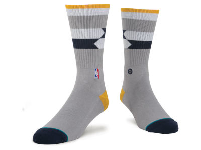 Indiana Pacers Stance NBA Arena Core Crew Sock