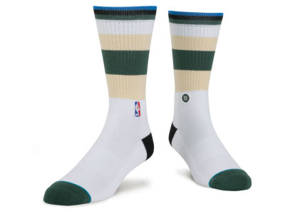 Milwaukee Bucks NBA Arena Core Crew Sock