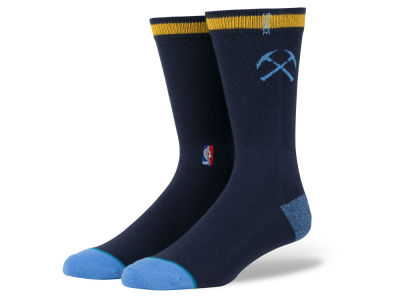 Denver Nuggets Stance NBA Arena Logo Crew Sock