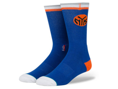 New York Knicks Stance NBA Arena Logo Crew Sock