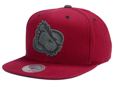 Colorado Avalanche Mitchell and Ness NHL Grey Tonal Logo Snapback Cap