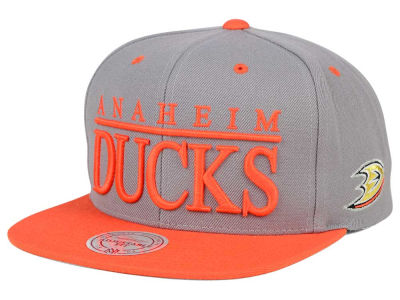 Anaheim Ducks Mitchell and Ness NHL Top Shelf Snapback Cap
