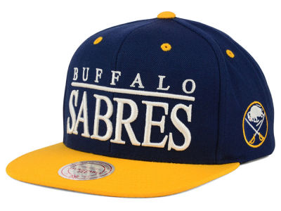 Buffalo Sabres Mitchell and Ness NHL Top Shelf Snapback Cap