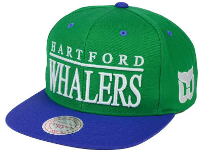 Hartford Whalers Mitchell & Ness NHL Top Shelf Snapback Cap